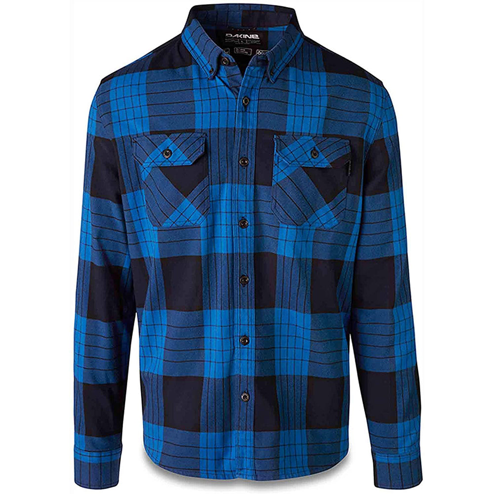 Dakine Reid Tech Flannel Long Sleeved Shirt - Colbalt