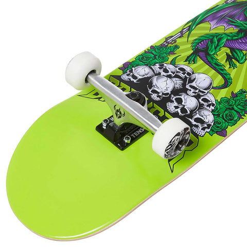 Darkstar Levitate Soft Wheels 8 Complete Skateboard - Green