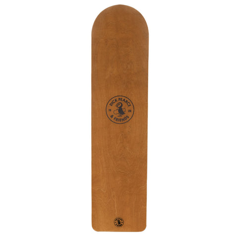 Dick Pearce & Friends Surfrider Belly Board - Wood Stain