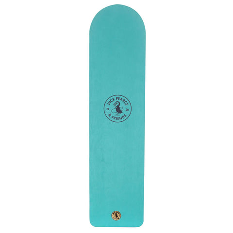 Dick Pearce & Friends Surfrider Painted Belly Board Bleach Green