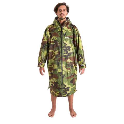Dryrobe Advance Long Sleeve - Camo Grey Medium