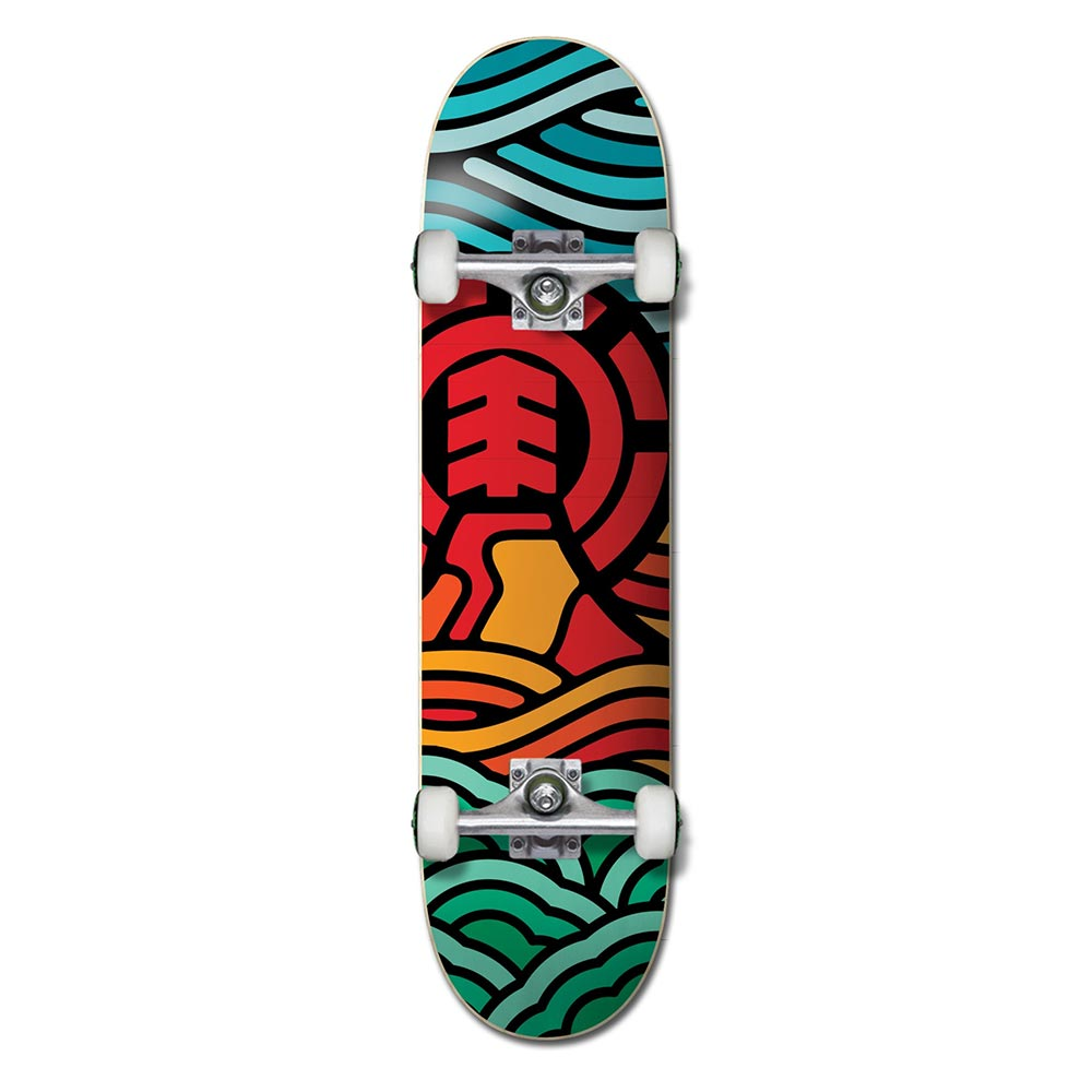 Element Volcanic 7.3 Complete Skateboard