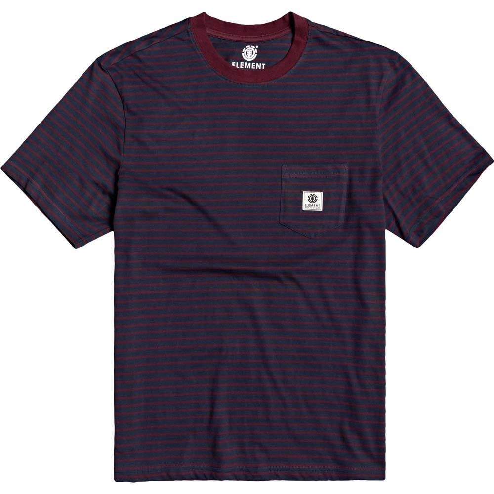 Element Basic Stripes Short Sleeved T Shirt