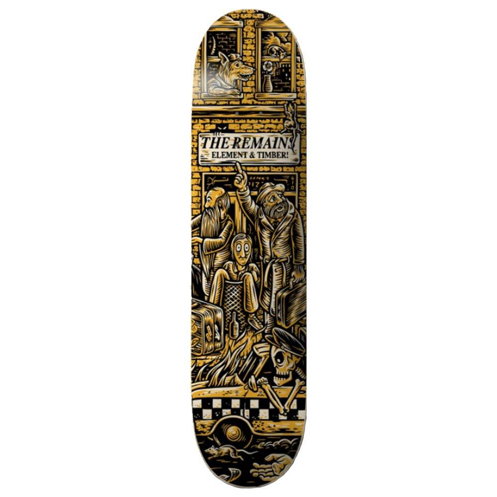 Element Timber Remains 8.5 Skateboard Deck