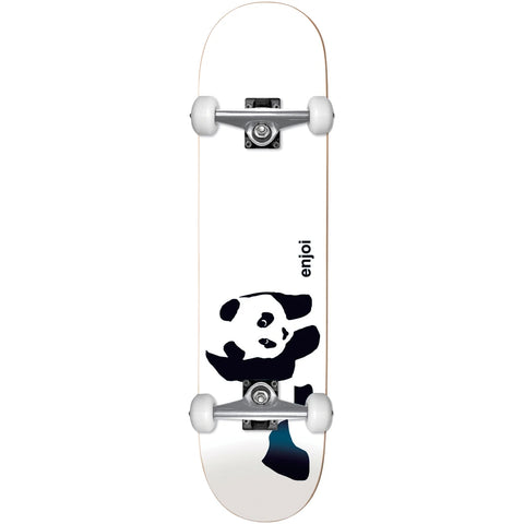 "Enjoi Panda 6.5"" Soft Top Complete Skateboard"