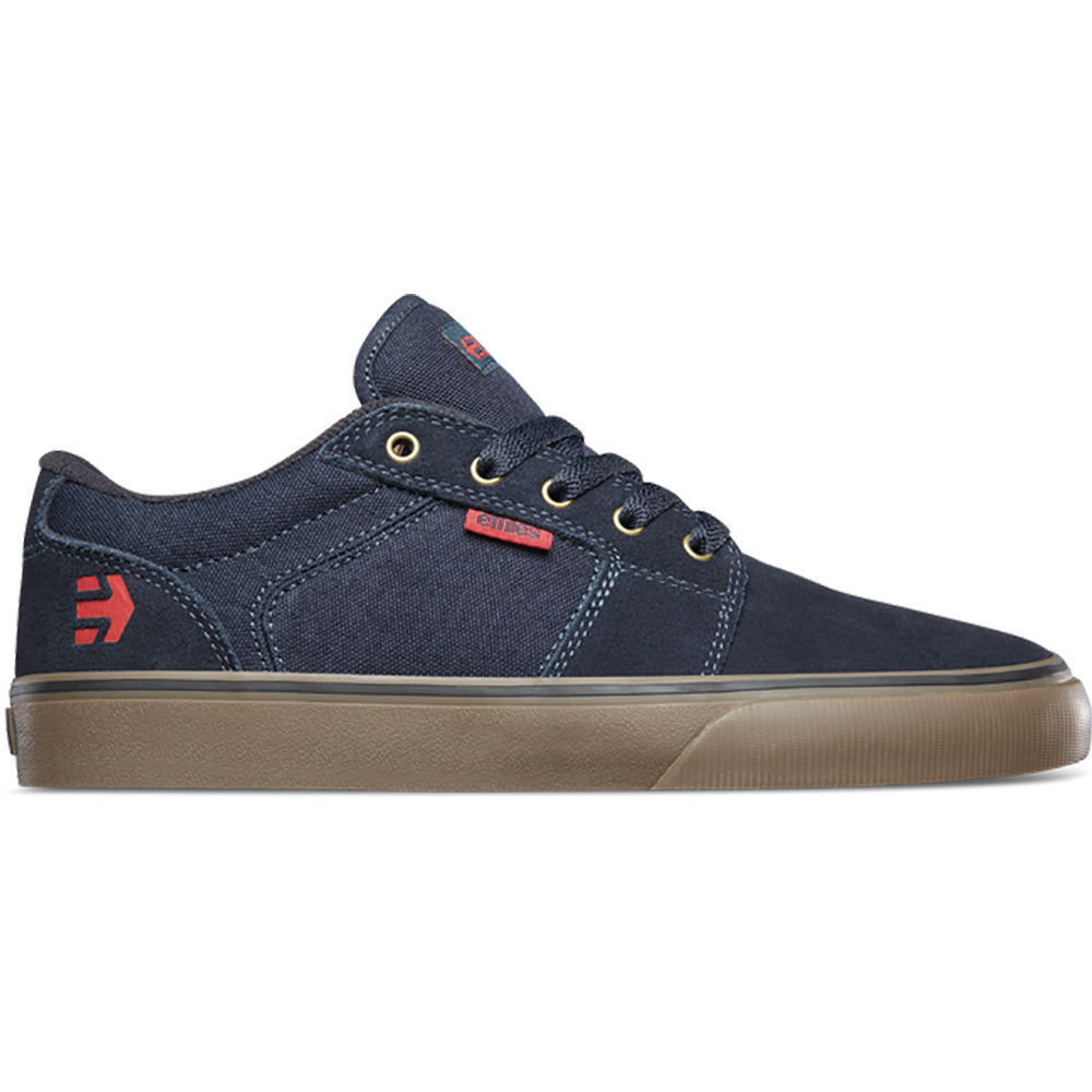 Etnies Barge LS Skate Shoes - Navy / Gum