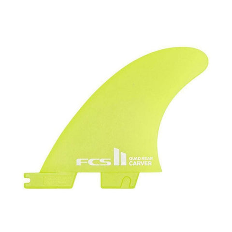 FCS2 Carver Neo Glass Small Quad Rear Side Byte Fin Set