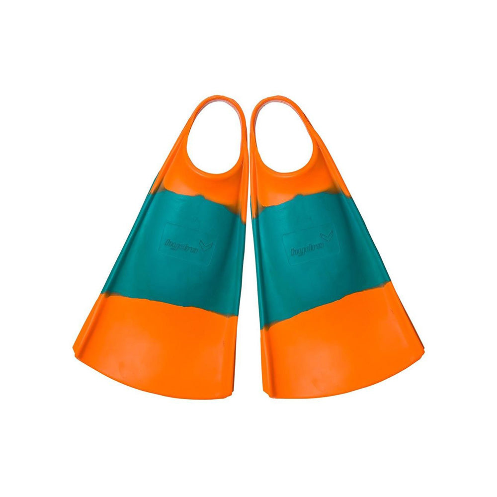 Hydro Fin Bodyboard Fins (OG's) - Orange / Emerald