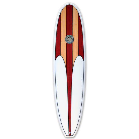Hawaiian Soul Veneer 8ft Mini Mal Surfboard
