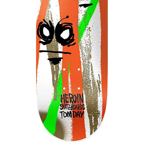 Heroin Tom Day Call of the Wild Skateboard Deck 8.5""