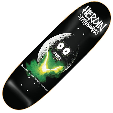 "Heroin Space Egg 9.4"" Skateboard"