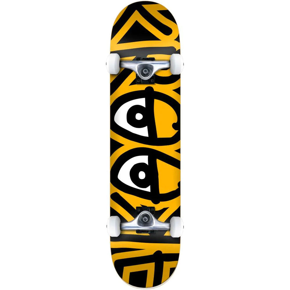 "Krooked Bigger Eyes 7.3"" Complete Skateboard"