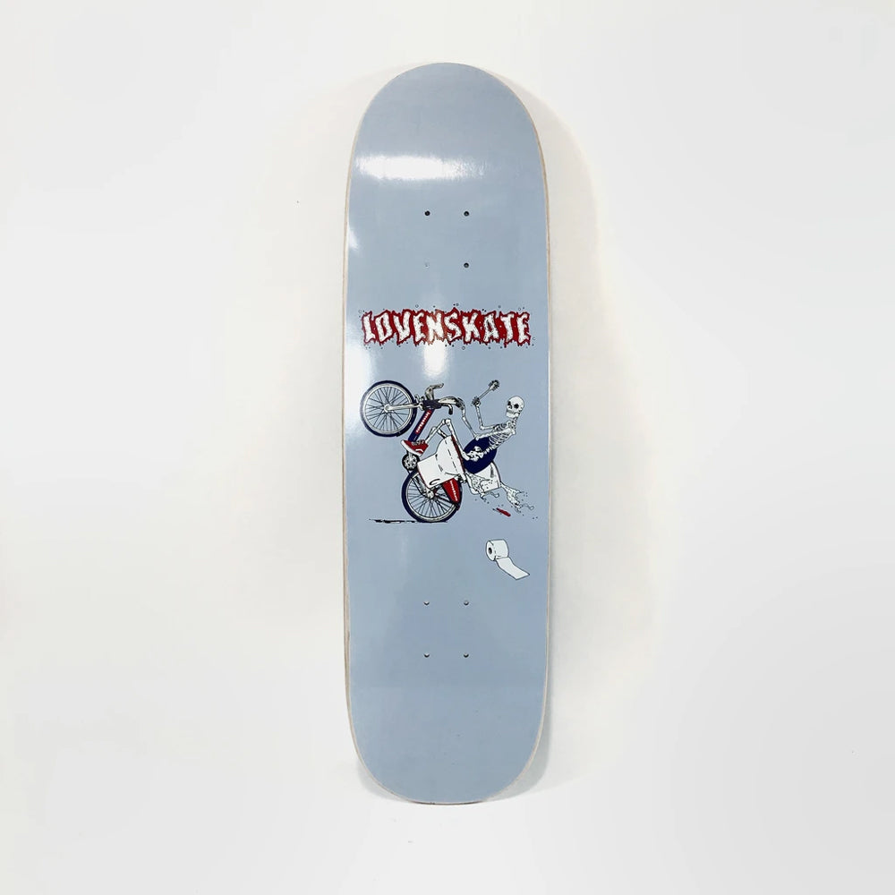 "Lovenskate On Your Bike Boris 9"" Football Shape Skate Deck"