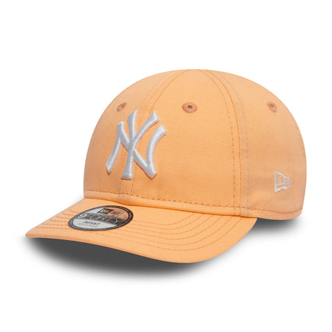 New Era 9Forty League NY Yankees Cap Peach