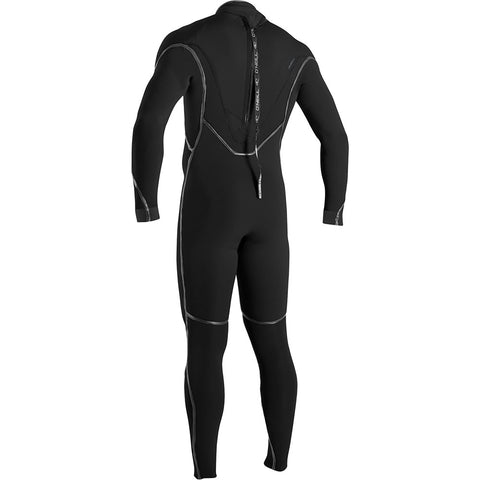 O'Neill Psycho One 5/4mm Back Zip Winter Wetsuit - Black/Black