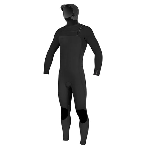O'Neill Junior Hyperfreak 5.5/4 Hooded Chest Zip Wetsuit