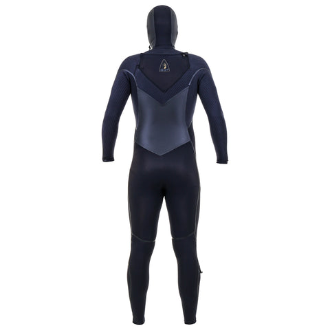 O'Neill Mutant Legend 5/4mm C/Z Winter Wetsuit With Hood - Black