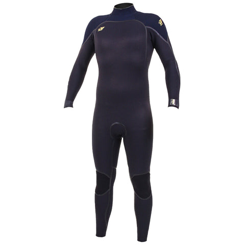 O'Neill Psycho One 3/2mm Back Zip Full Wetsuit  - Black/Abyss