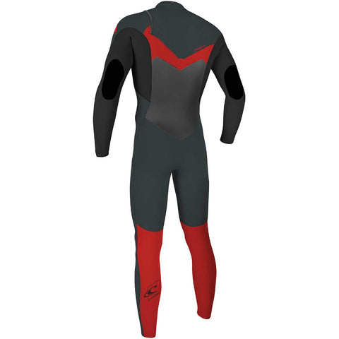 O'Neill Youth Epic 4/3mm Chest Zip Wetsuit  - Gun Metal
