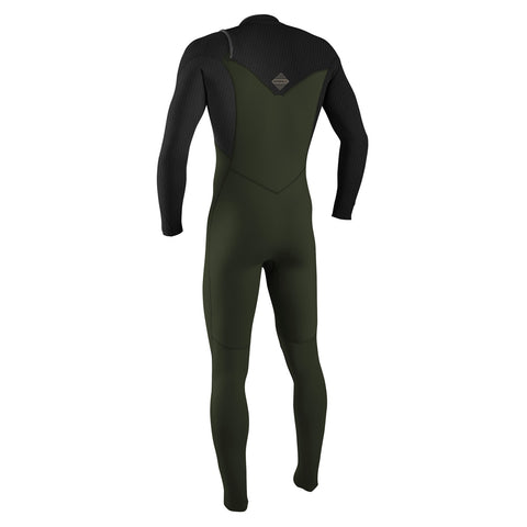 O'Neill Hyperfreak 5.5/4+mm C/Z Winter Wetsuit - Ghostgreen/Black