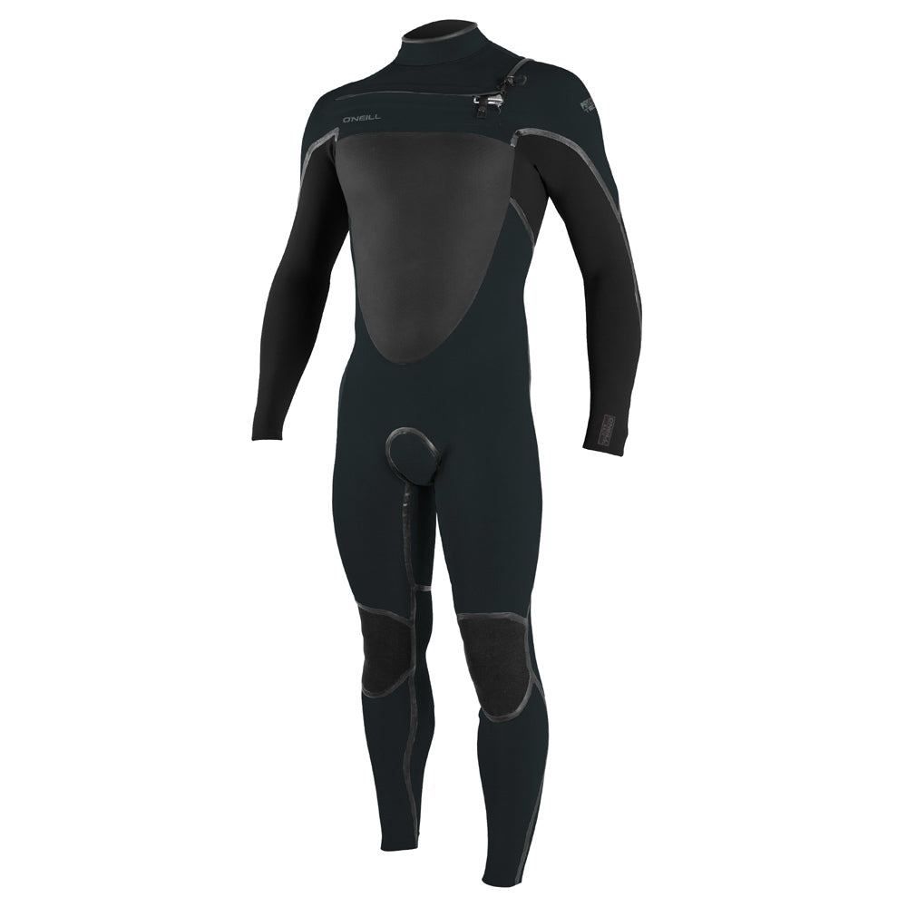 O'Neill Psycho Tech 5.5/4+mm C/Z Winter Wetsuit - Ghostgreen/Black