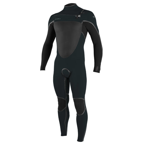 O'Neill Psycho Tech 5/4+mm C/Z Winter Wetsuit - Ghostgreen/Black