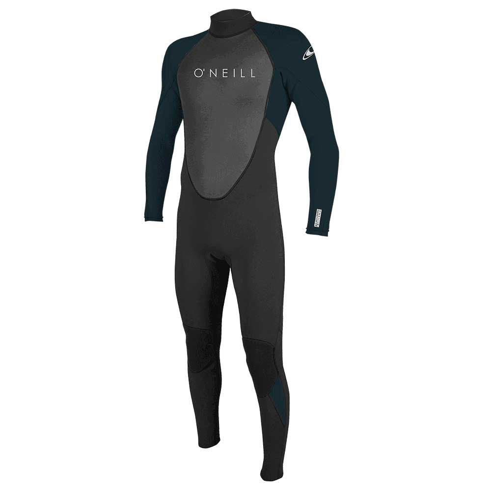 O'Neill Reactor-2 3/2mm Back Zip Full Wetsuit - Black/Abyss