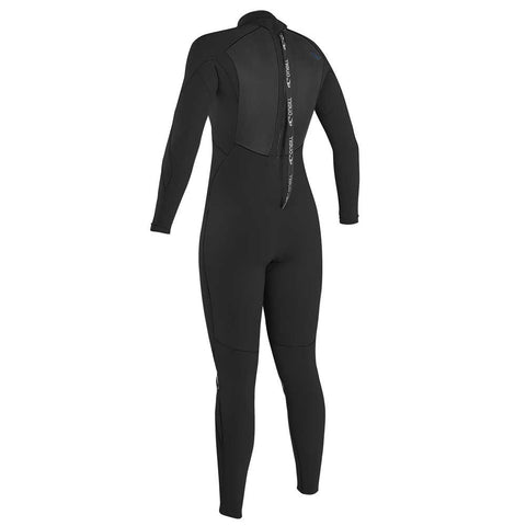 O'Neill Womens Epic 3/2mm BZ Full Wetsuit - Black/Black/Black