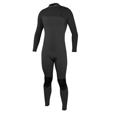O'Neill Hyperfreak Comp Zip Free 5/4mm Full Wetsuit - Black