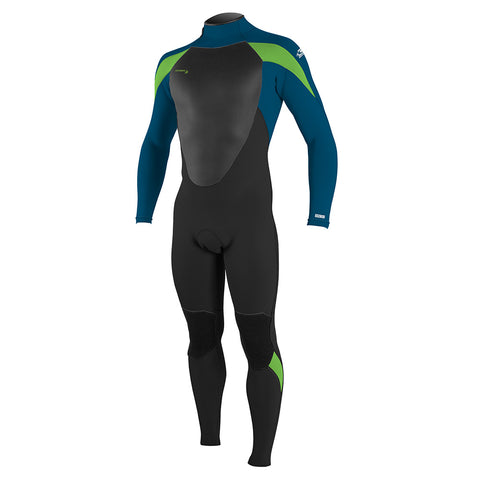 O'Neill Youth Epic 4/3mm BZ Full Wetsuit - Black/Ultrablue/Dayglo