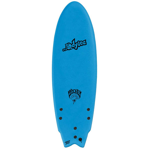 ODYSEA X LOST 5'11 Round Nose Fish Tri Soft Surfboard