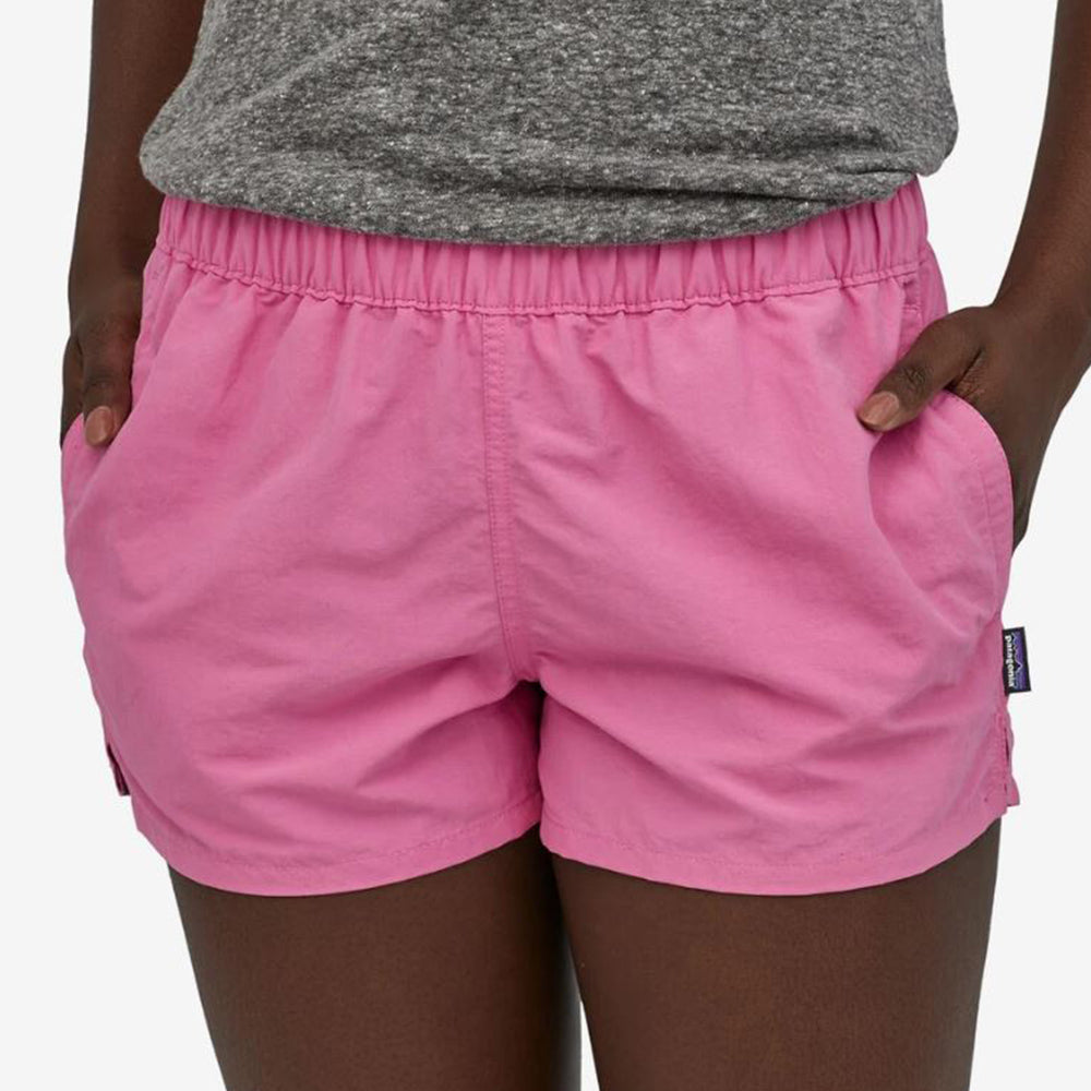 Patagonia Womens Barely Baggies Shorts  - Marble Pink
