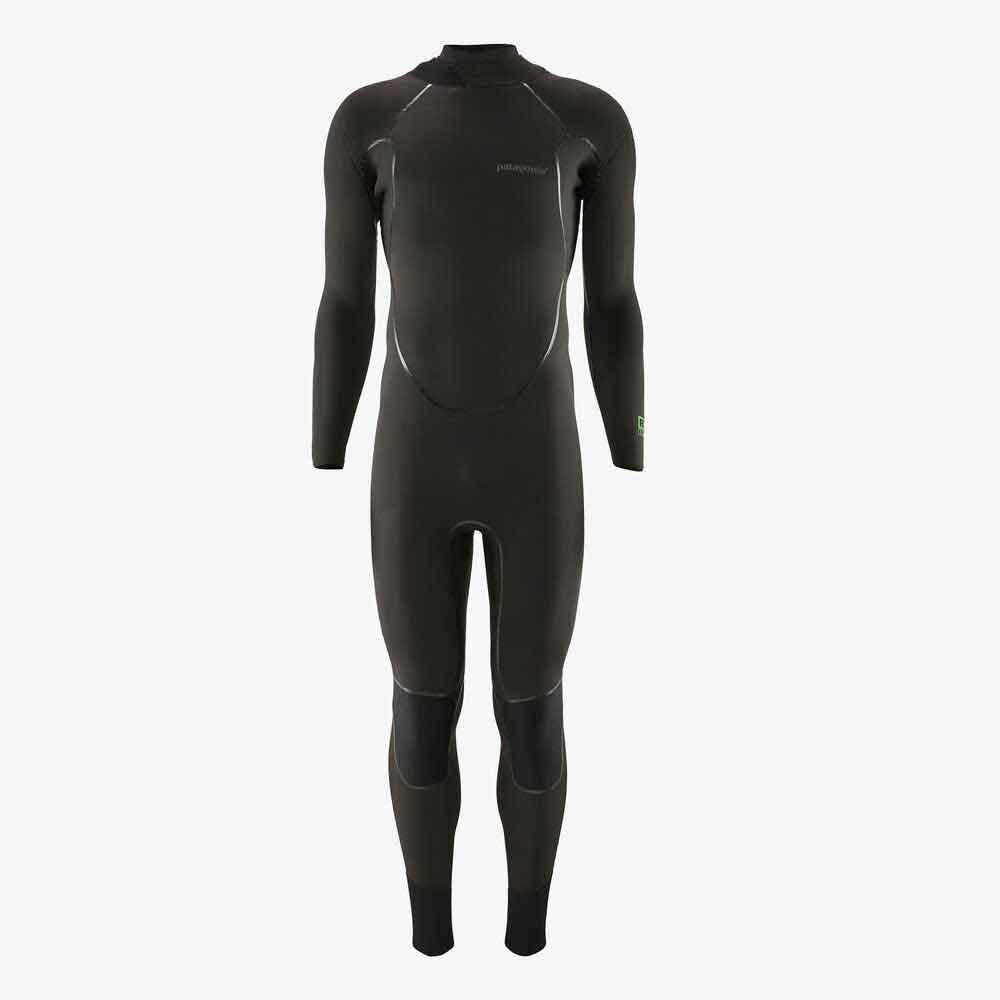 Patagonia R2 Yulex Back Zip Full Wetsuit  - Black