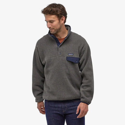 Patagonia Synchilla Snap-T Pullover - Nickel