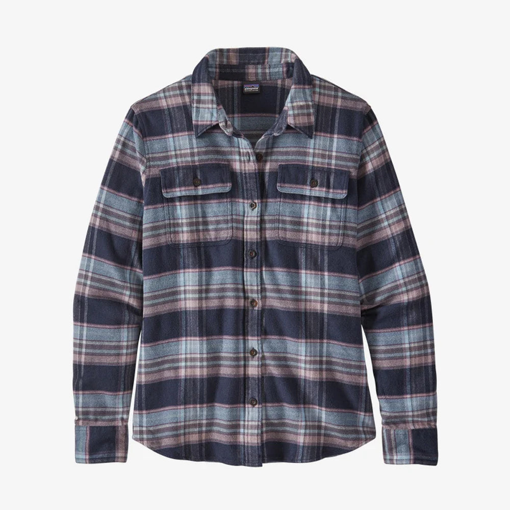 Patagonia Womens Fjord Flannel Long Sleeved Shirt