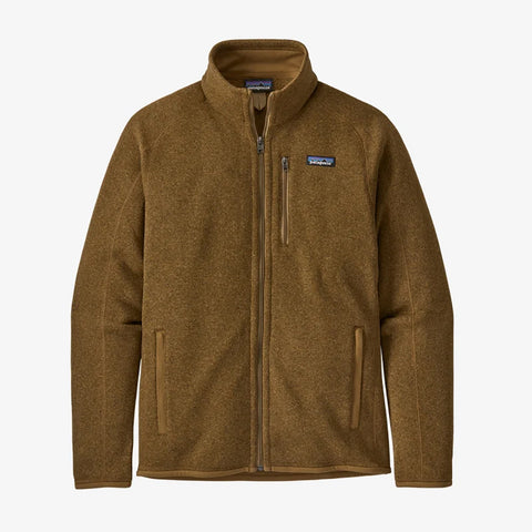 Patagonia Better Sweater Zip Feece Jacket - Mulch Brown