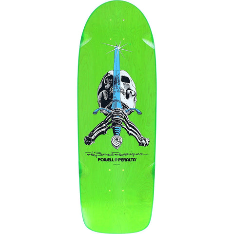 Powell Peralta Ray Bones Skull and Sword - Green