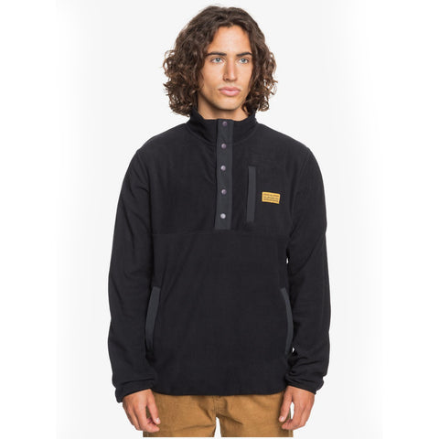 Quiksilver No Destination Half Snap Fleece