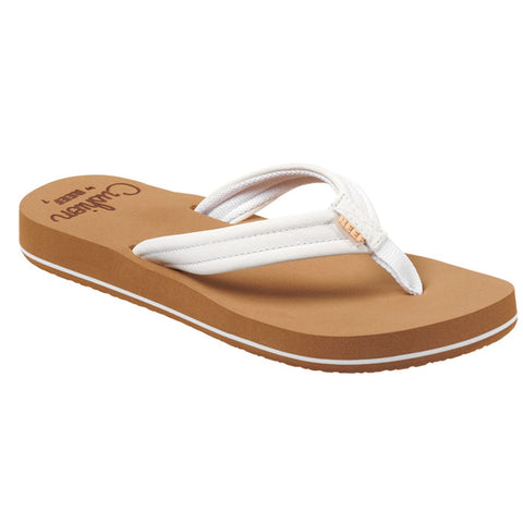 Reef Womens Cushion Breeze Flip Flops - Cloud
