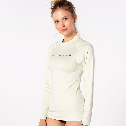 Rip Curl Womens Sunny Rays Relaxed Long Sleeved UV Tee - Mint