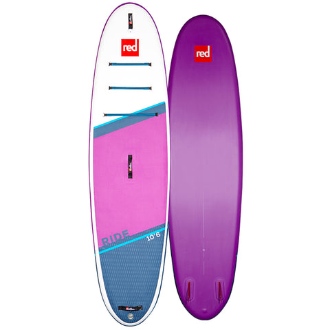 Red Ride MSL 10'6 Inflatable Paddle Board Carbon Nylon Package..,