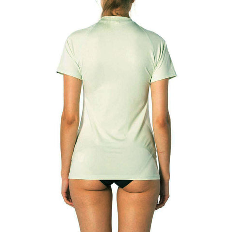 Rip Curl Womens Sunny Rays Relaxed Short Sleeved UV Tee - Mint