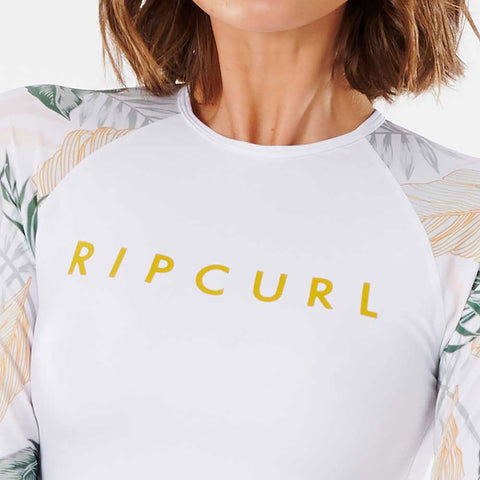Rip Curl Womens Coastal Palms Long Sleeve UV Top