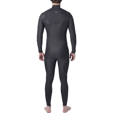 Rip Curl Dawn Patrol Performance 3/2mm CZ Full Wetsuit - Charcoal