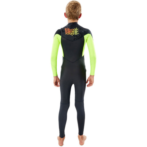 Rip Curl Junior Dawn Patrol 5/3mm CZ Winter Wetsuit - F Lemon