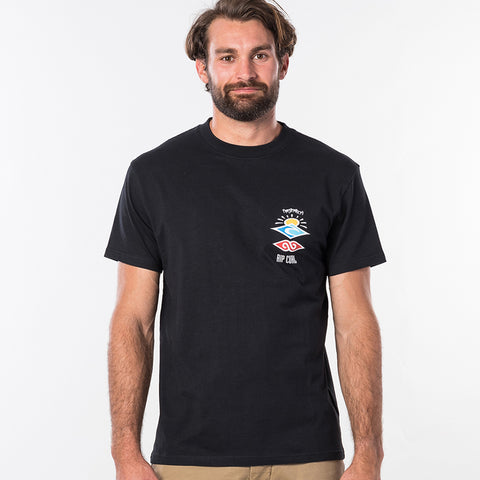 Rip Curl Search Logo Short Sleeved T-Shirt