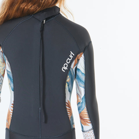 Rip Curl Girls Dawn Patrol 5/3mm BZ Winter Wetsuit -Charcoal Grey