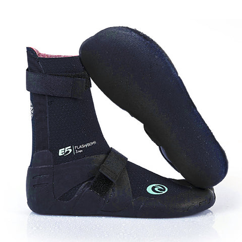 Ripcurl Womens Flashbomb 3mm Hidden Split Toe Wetsuit boots