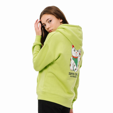Santa Cruz Womens Lucky Cat Hoodie