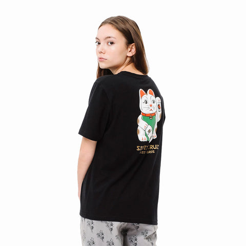 Santa Cruz Womens Lucky Cat T-Shirt